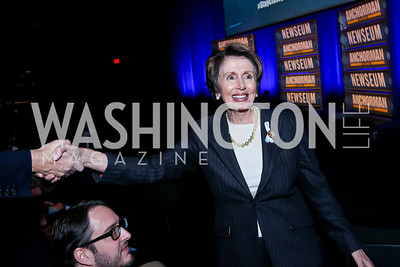 Leader Nancy Pelosi. Photo by Tony Powell. Anchorman II Q&A. Newseum. December 3, 2013