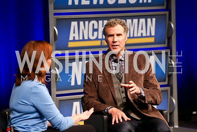 Anchorman 2 Q&A with Will Ferrell @ The Newseum