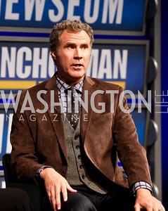 Will Ferrell. Photo by Tony Powell. Anchorman II Q&A. Newseum. December 3, 2013