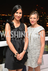 Agustina Casas, Alix Dionot Morani, Miami Art Basel Kickoff Reception hosted by the Brillembourgs.  Wednesday, December 4th, 2013.  Photo by Ben Droz