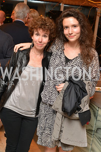 Meryl Chertoff, Emily Chertoff, Miami Art Basel Kickoff Reception hosted by the Brillembourgs.  Wednesday, December 4th, 2013.  Photo by Ben Droz