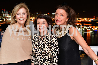 Jane Cafritz, JoAnn Mason, Anika Gaal Schott, Miami Art Basel Kickoff Reception hosted by the Brillembourgs.  Wednesday, December 4th, 2013.  Photo by Ben Droz