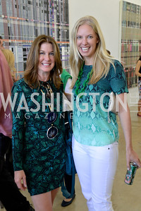 Dana Shear, Michelle Rubell, Miami Art Basel, Rubell Collection, Brunch Thursday December 5th, 2013.  Photo by Ben Droz.