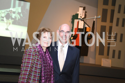 Mr. and Mrs. Henry Waxman, The Ballets Russes, at the National Gallery of Art.  Wednesday, May 8, 2013.  Photo by Ben Droz.