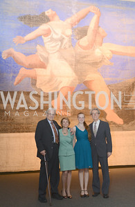 Max Berry, Pamela Thomas, May Robison, Andrew Robison, The Ballets Russes, at the National Gallery of Art.  Wednesday, May 8, 2013.  Photo by Ben Droz.