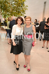 JoAnn Mason, Adrienne Arsht, The Ballets Russes, at the National Gallery of Art.  Wednesday, May 8, 2013.  Photo by Ben Droz.