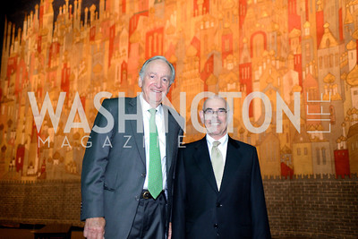 Senator Tom Harkin, Congressman Harry Waxman, The Ballets Russes, at the National Gallery of Art.  Wednesday, May 8, 2013.  Photo by Ben Droz.