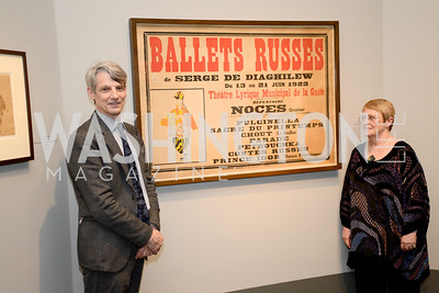 Geoffrey Marsh, Jane Prichard, The Ballets Russes, at the National Gallery of Art.  Wednesday, May 8, 2013.  Photo by Ben Droz.