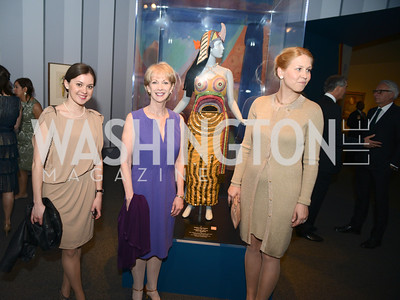 Darya Ermolena, Kay Casstevens, Olga Grischenko, The Ballets Russes, at the National Gallery of Art.  Wednesday, May 8, 2013.  Photo by Ben Droz.