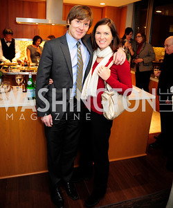 Brian Athey,Erin Athey,Beasley Real Estate First Anniversary at The Residences at The Ritz,February 7, 2013,Kyle Samperton