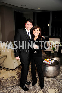 Ryan Knowles,Insun Hofgard,Beasley Real Estate First Anniversary at The Residences at The Ritz,February 7,2013,Kyle Samperton