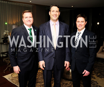 Jim Bell,David Pollin,Trent Heminger,Beasley Real Estate First Anniversary at The Residences at The Ritz,February 7, 2013,Kyle Samperton