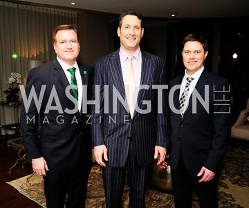 Jim Bell,David Pollin,Trent Heminger,Beasley Real Estate First Anniversary at The Residences at The Ritz,February 7, 2013,Kyle Samperton