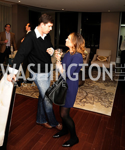 Adam Chepenik, Marissa Chepenik,Beasley Real Estate First Anniversary at The Residences at The Ritz,February 7, 2013,Kyle Samperton