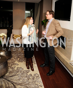 Valerie Cline,Greg Sitzmann,Beasley Real Estate First Anniversary at The Residences at The Ritz,February 7, 2013,Kyle Samperton