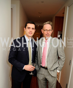 Eric Tomlinson,Ed Ingebretsen,Beasley Real Estate First Anniversary at The Residences at The Ritz,February 7, 2013,Kyle Samperton