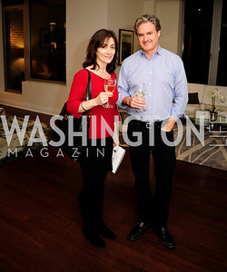 Kathy Hughes,Jeff Honea,Beasley Real Estate First Anniversary at The Residences at The Ritz,February 7, 2013,Kyle Samperton