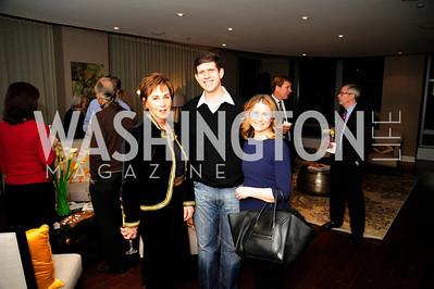 Sheila Mooney,Adam Chepenik,Marissa Chepenik,,Beasley Real Estate First Anniversary at The Residences at The Ritz,February 7, 2013,Kyle Samperton