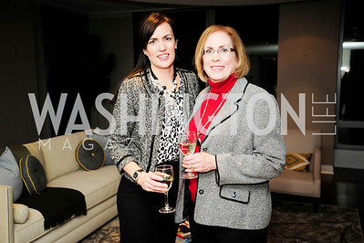 D'Ann Long,Denise Lanning,Beasley Real Estate First Anniversary at The Residences at The Ritz,February 7,2013,Kyle Samperton