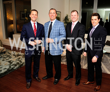 John Downs,Tim Whittier,David Helfrich,Bradley Smith,Beasley Real Estate First Anniversary at The Residences at The Ritz,February 7, 2013,Kyle Samperton