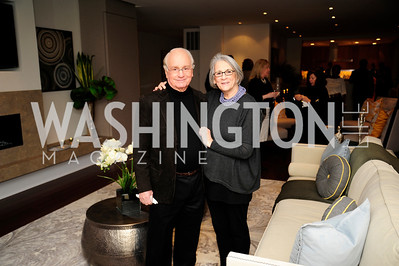 Sheldon Gorland,Ruth Gorland,Beasley Real Estate First Anniversary at The Residences at The Ritz,February 7, 2013,Kyle Samperton