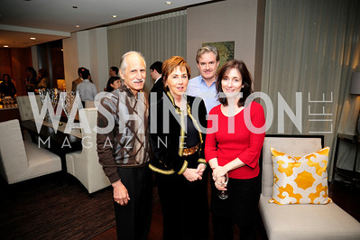 Rick Young, Sheila Mooney,Kathy Hughes,Jeff Honea,Beasley Real Estate First Anniversary at The Residences at The Ritz,February 7, 2013,Kyle Samperton