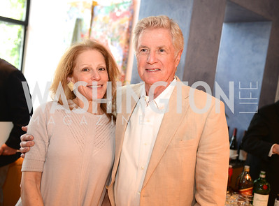 "Barbara Liotta, John Kuhnle, Book Party for ""Bolero"" by  Joanie McDonnell.   Hosted at the home of Jack Davies and Kay Kendall.  Friday, April 26th.  Photo by Ben Droz"