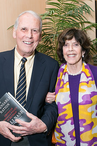 Walter Cutler, Didi Cutler. Photo by Alfredo Flores. Book Party for Dr. Vali Nasr's The Dispensable Nation. Ann and Bill Nitze Residence. May 13, 2013