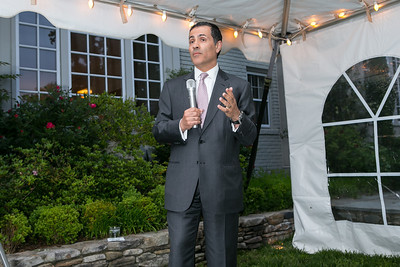 Vali Nasr. Book Party for Dr. Vali Nasr's The Dispensable Nation. Liaquat and Meena Ahamed Residence. May 14, 2013.