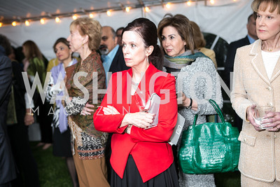 Robin Wright. Book Party for Dr. Vali Nasr's The Dispensable Nation. Liaquat and Meena Ahamed Residence. May 14, 2013.