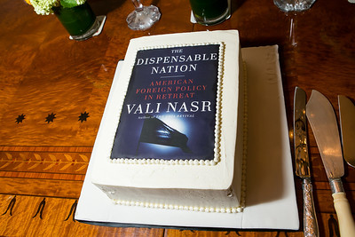 Book Party for Dr. Vail Nasr's The Dispensable Nation. Liaquat and Meena Ahamed Residence. May 14, 2013