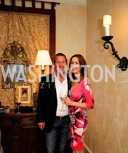 Lance Williams,Lauren Hudspeth,April 30,2013,Book Party for Jenn Crovato's '' Olive Oil,Sea Salt and Pepper ''at the Fernandez Residence,Kyle Samperton