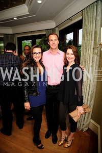 Carolina Furukrona,Jonas Furukrona,Lana Orloff.,April 30,2013,Book Party for Jenn Crovato's '' Olive Oil,Sea Salt and Pepper ''at the Fernandez Residence,Kyle Samperton