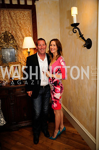 Lance Williams,Lauren Hudspeth,April 30,2013,Book Party for Jenn Crovato's '' Olive Oil,Sea Salt and Pepper ''at the Fernandez Residence,Kyle Samperton