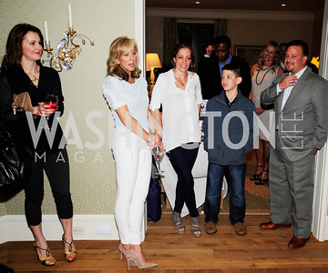 Lana Orloff,Jean -Marie Fernandez,Jenn Crovato,Raul Fernandez,,April 30,2013,Book Party for Jenn Crovato's '' Olive Oil,Sea Salt and Pepper ''at the Fernandez Residence,Kyle Samperton