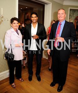 Diane Jones,Nayan Patel,Jim Jones,April 30,2013,Book Party for Jenn Crovato's '' Olive Oil,Sea Salt and Pepper ''at the Fernandez Residence,Kyle Samperton