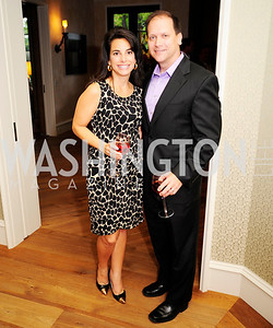 Marie Frazier,Sean Frazier,April 30,2013,Book Party for Jenn Crovato's '' Olive Oil,Sea Salt and Pepper ''at the Fernandez Residence,Kyle Samperton