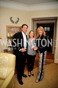 Greg Powell,Jennifer Vermillion,Michelle Powell,April 30,2013,Book Party for Jenn Crovato's '' Olive Oil,Sea Salt and Pepper ''at the Fernandez Residence,Kyle Samperton