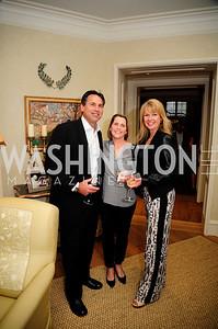 Greg Powell,Jennifer Vermillion,Michelle Powell,April 30,2013,Book Party for Jenn Crovato's '' Olive Oil,Sea Salt and Pepper ''at the Fernandez Residence,Kyle Samperton