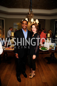 Hilton Hudson,Lana Orloff,April 30,2013,Book Party for Jenn Crovato's '' Olive Oil,Sea Salt and Pepper ''at the Fernandez Residence,Kyle Samperton