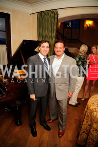 Julius Genachowski,,Raul Fernandez,April 30,2013,Book Party for Jenn Crovato's '' Olive Oil,Sea Salt and Pepper ''at the Fernandez Residence,Kyle Samperton