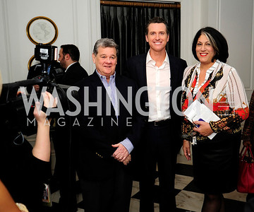 John Coale,Lt.Gov.Gavin Newsom,Tammy Haddad,February 15,2013,Book Party for Lt.Gov.Gavin Newsom's ''Citizenville ''at The Jefferson Hotel,Kyle Samperton