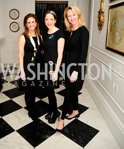 Betsy Fischer Martin, Heather Podesta,Holly Page,February 15,2013,Book Party for Lt.Gov.Gavin Newsom's ''Citizenville ''at The Jefferson Hotel,Kyle Samperton