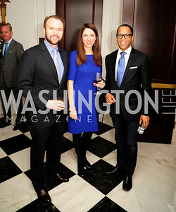 Michael Steel,Mary Katherine Steel,Jonathan Capehart,February 15,2013,Book Party for Lt.Gov.Gavin Newsom's ''Citizenville ''at The Jefferson Hotel,Kyle Samperton