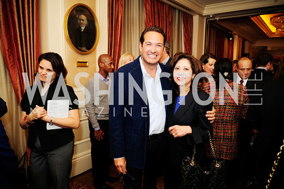 Marc Adleman,  Hilda Solis,February 15,2013,Book Party for Lt.Gov.Gavin Newsom's ''Citizenville ''at The Jefferson Hotel,Kyle Samperton
