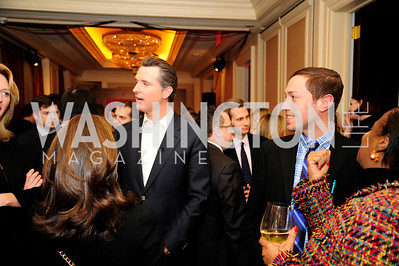 Lt.Gov.Gavin Newsom, February 15,2013,Book Party for Lt.Gov.Gavin Newsom's ''Citizenville ''at The Jefferson Hotel,Kyle Samperton