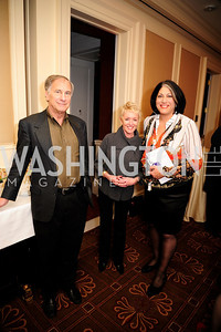 John Phillips,Linda Douglas,Tammy Haddad,February 15,2013,Book Party for Lt.Gov.Gavin Newsom's ''Citizenville ''at The Jefferson Hotel,Kyle Samperton