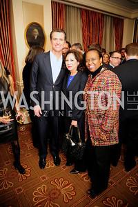 Lt.Gov.Gavin Newsom,  Hilda Solis, Reta Lewis,February 15,2013,Book Party for Lt.Gov.Gavin Newsom's ''Citizenville ''at The Jefferson Hotel,Kyle Samperton
