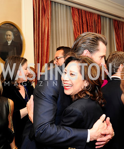 Lt.Gov.Gavin Newsom,  Hilda Solis,February 15,2013,Book Party for Lt.Gov.Gavin Newsom's ''Citizenville ''at The Jefferson Hotel,Kyle Samperton