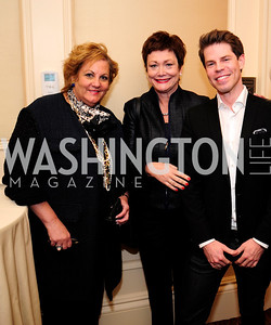 Martha Slagle,Ellen Tauscher,Mark Hamilton,February 15,2013,Book Party for Lt.Gov.Gavin Newsom's ''Citizenville ''at The Jefferson Hotel,Kyle Samperton